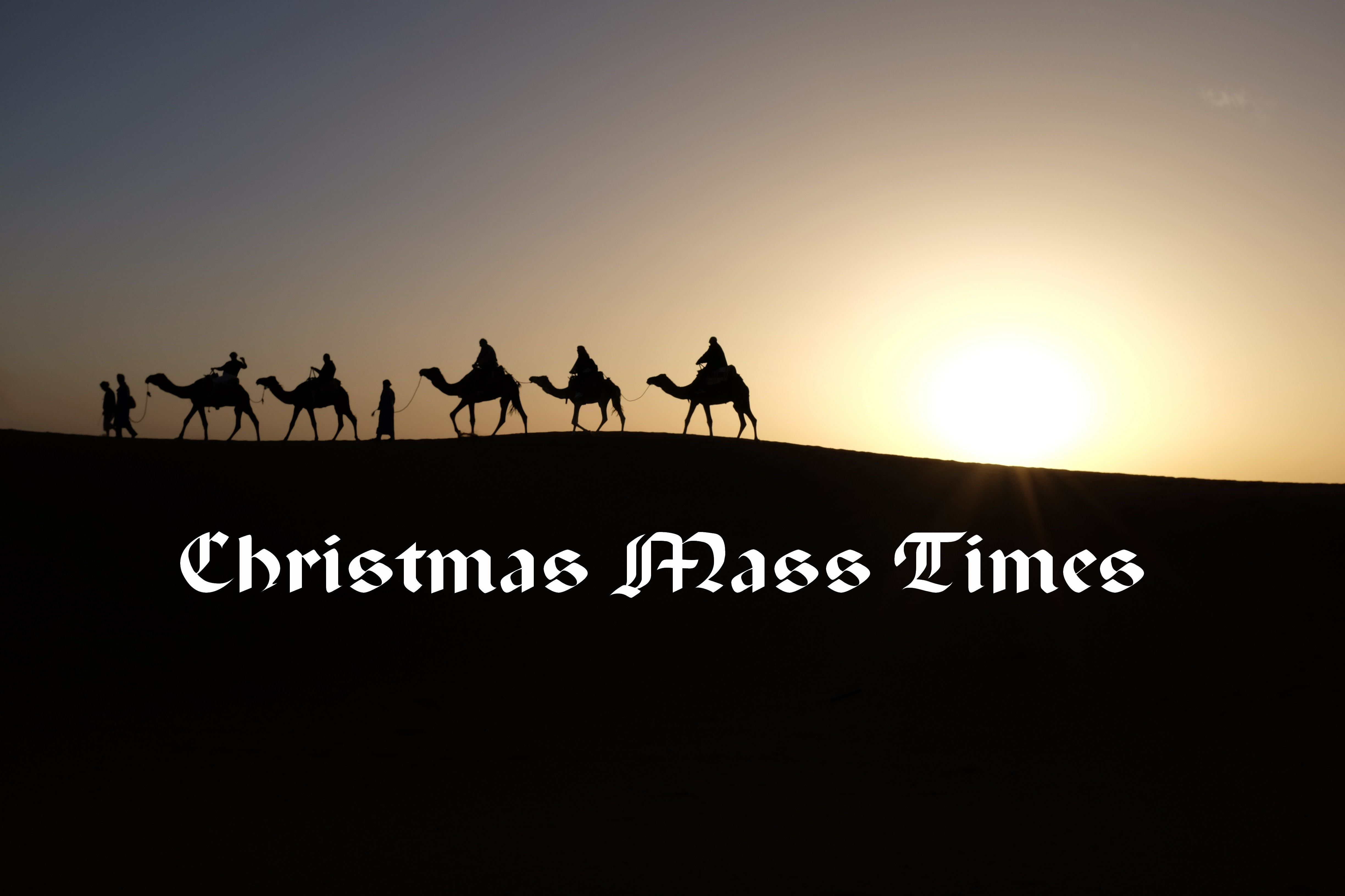 Christmas Mass Times 2020 – booking now open